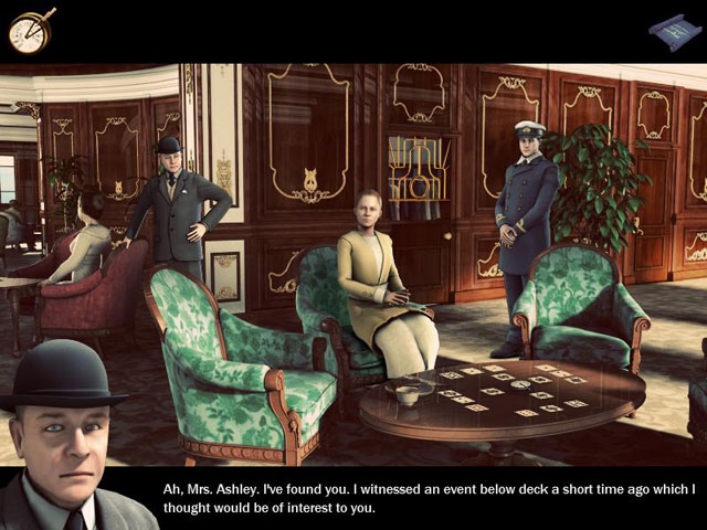 Game screenshot 1 Hidden Mysteries®: The Fateful Voyage - Titanic