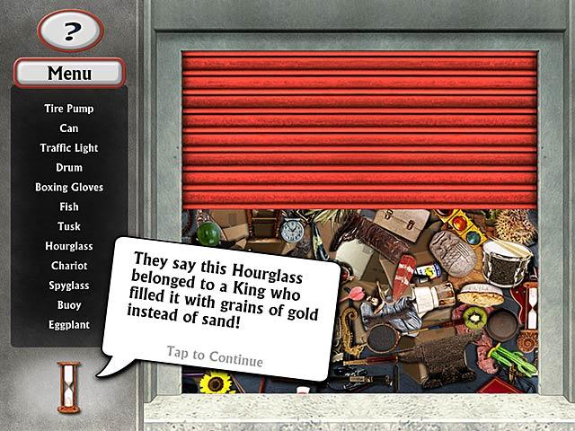 Hidden object adventures storage smackdown ipad iphone for Big fish games hidden object