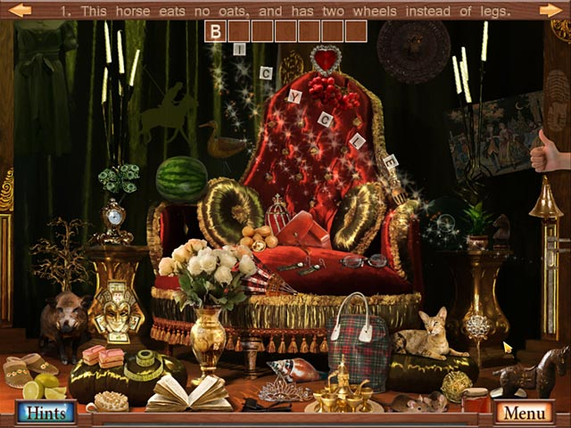 Hidden Object Crosswords Screenshot-1