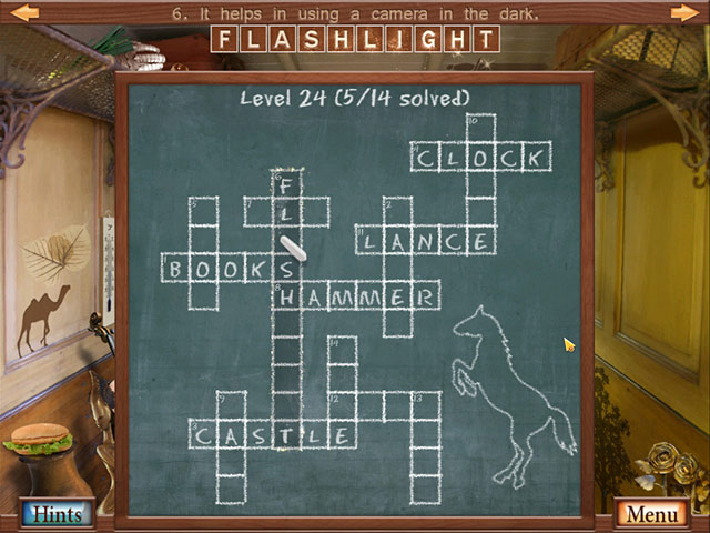 Game screenshot 2 Hidden Object Crosswords