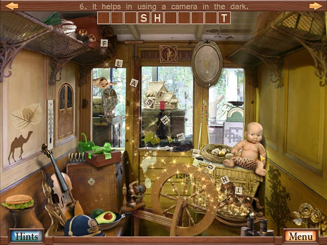 Hidden Object Crosswords Screenshot-3
