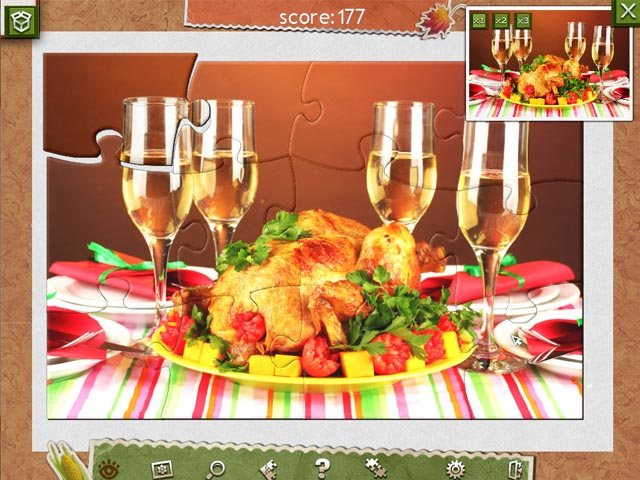 Game screenshot 1 Holiday Jigsaw Thanksgiving Day