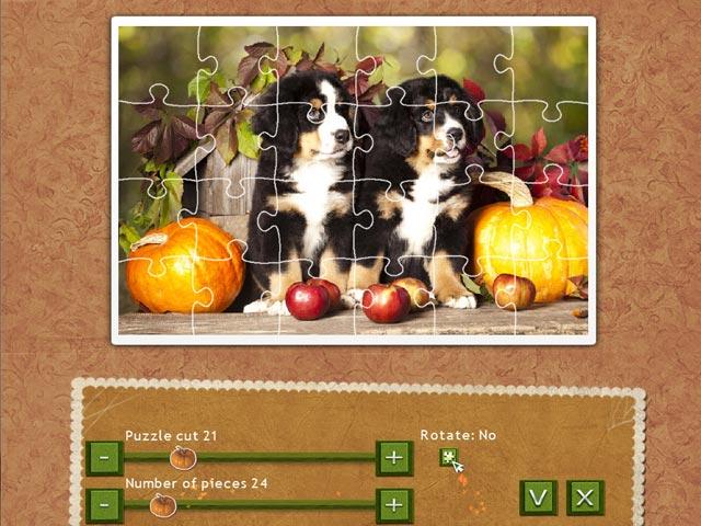 Game screenshot 2 Holiday Jigsaw Thanksgiving Day