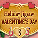Holiday Jigsaw Valentine's Day 3