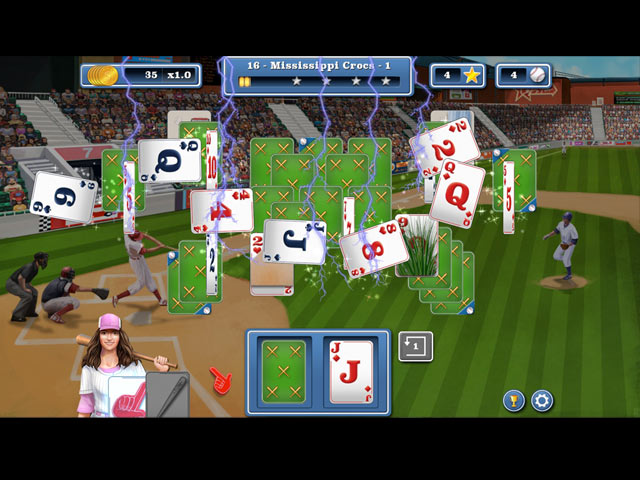 Home Run Solitaire - Screenshot 2
