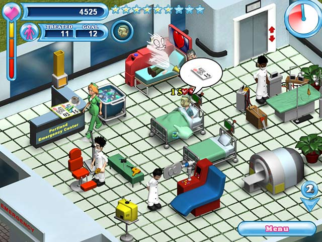 Game screenshot 1 Hospital Hustle
