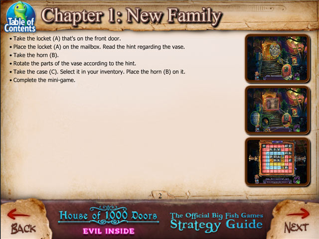 Game screenshot 1 House of 1000 Doors: Evil Inside Strategy Guide
