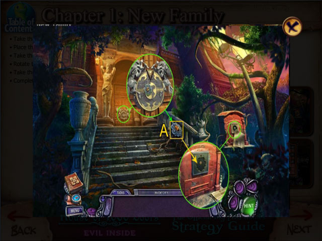 Game screenshot 2 House of 1000 Doors: Evil Inside Strategy Guide