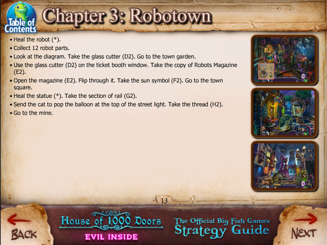 Game screenshot 3 House of 1000 Doors: Evil Inside Strategy Guide