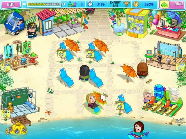 Game screenshot 1 Huru Beach Party