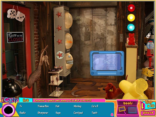 Game screenshot 2 iCarly: iDream in Toons