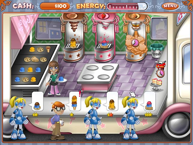 Game screenshot 1 Ice Cream Craze: Tycoon Takeover