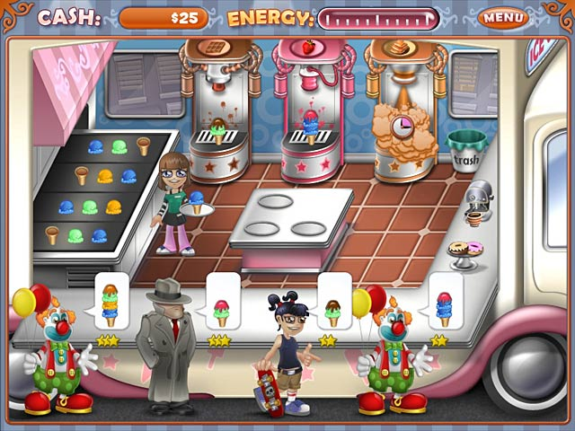 Game screenshot 2 Ice Cream Craze: Tycoon Takeover