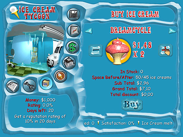 Game screenshot 2 Ice Cream Tycoon