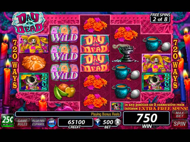 IGT Slots: Day of the Dead img