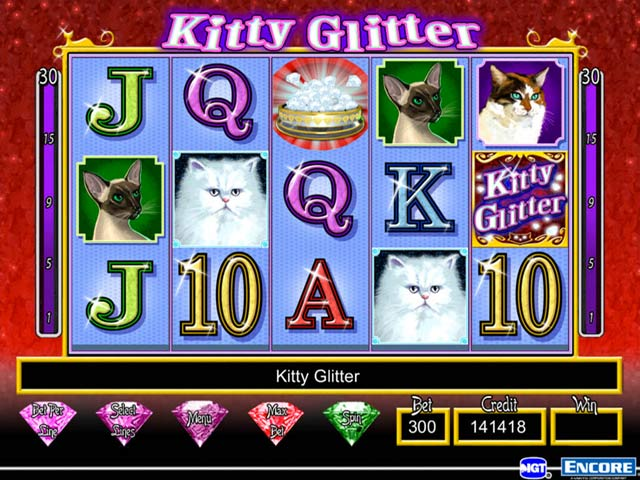 free slot games kitty glitter
