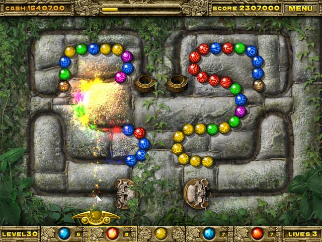 Game screenshot 1 Inca Ball