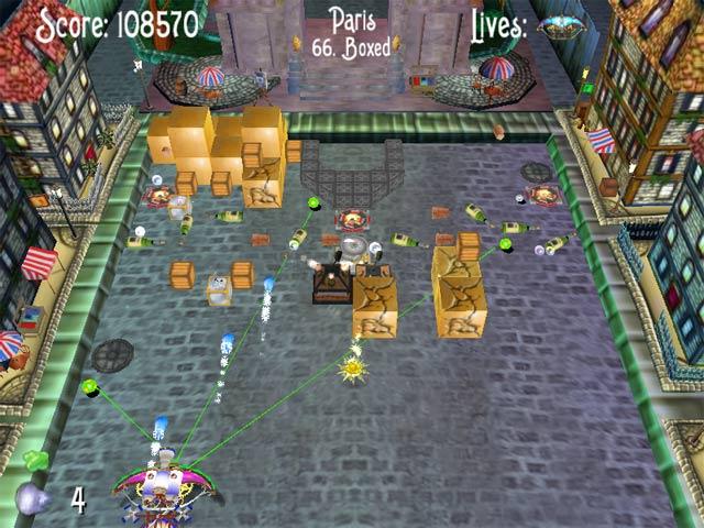 Spiele Screenshot 2 Incrediball The Seven Sapphires