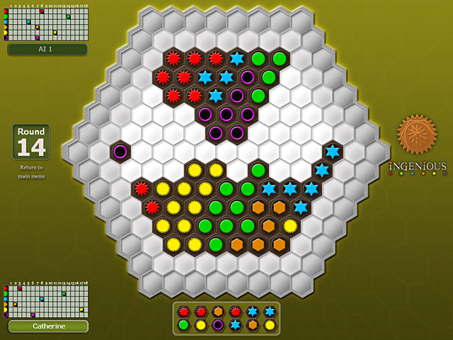 Game screenshot 2 Reiner Knizia's Ingenious