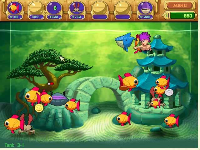 Game screenshot 1 Insaniquarium! Deluxe