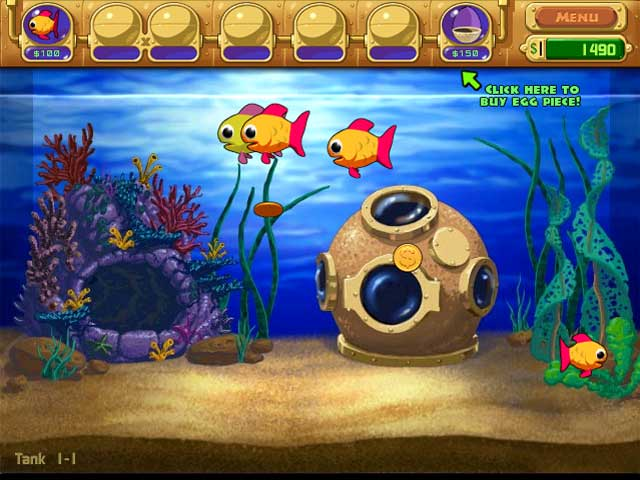 Game screenshot 3 Insaniquarium! Deluxe