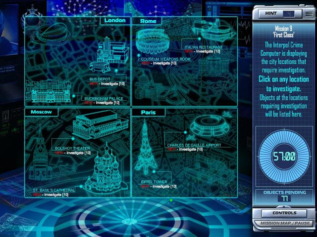 Game screenshot 3 Interpol: The Trail of Dr. Chaos