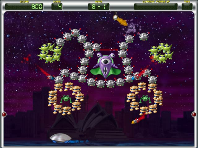 Game screenshot 1 Invadazoid