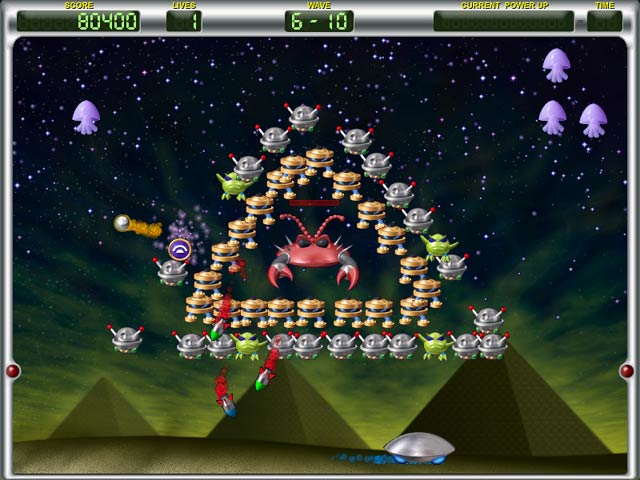 Game screenshot 3 Invadazoid