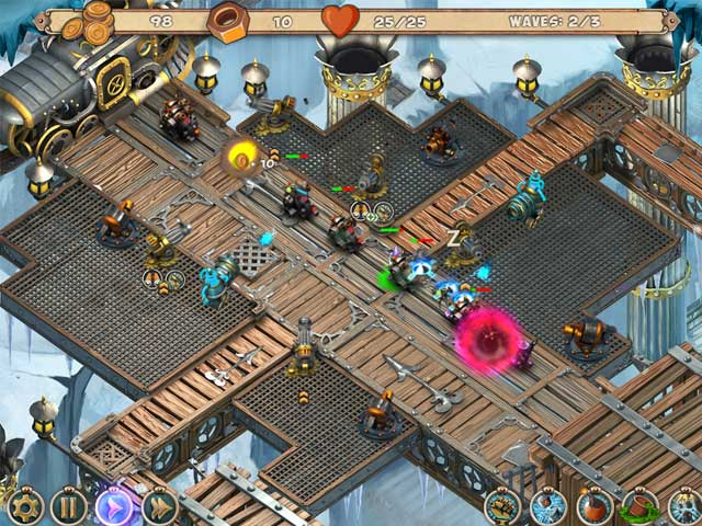 Game screenshot 1 Iron Heart: Steam Tower