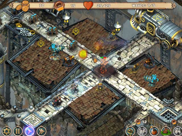 Game screenshot 3 Iron Heart: Steam Tower