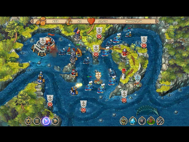Game screenshot 1 Iron Sea Defenders