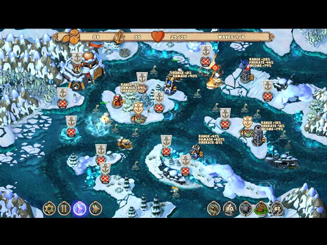Game screenshot 3 Iron Sea Defenders