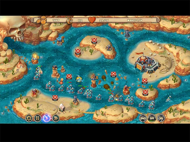 Game screenshot 1 Iron Sea: Frontier Defenders
