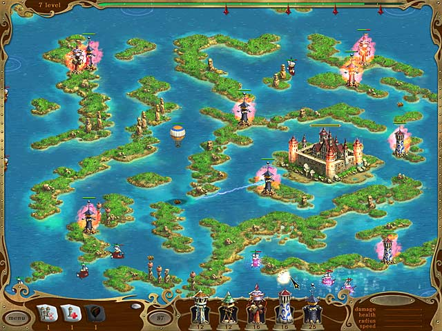 Game screenshot 2 Island Defense