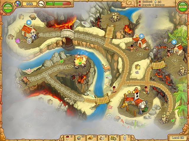 Game screenshot 2 Island Tribe 2