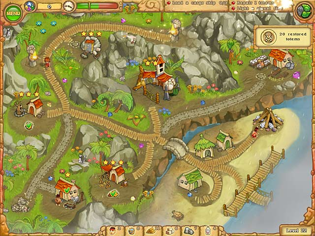 Game screenshot 1 Island Tribe 3