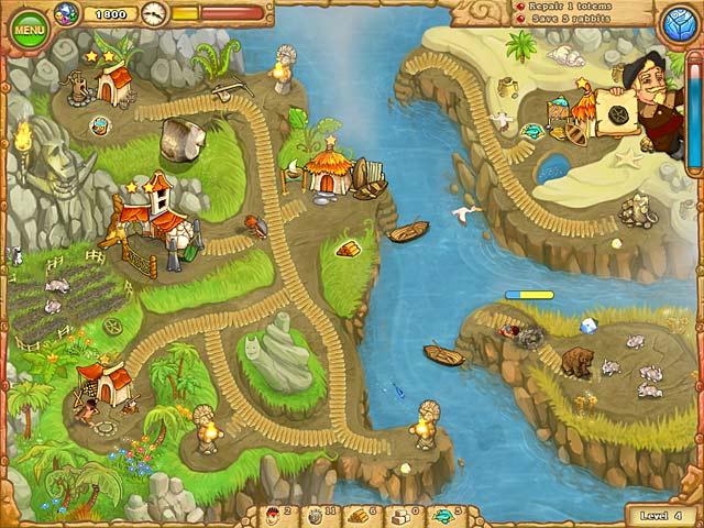 Game screenshot 3 Island Tribe 3
