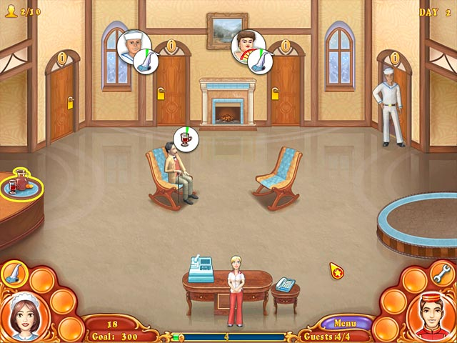 Game screenshot 1 Jane's Hotel Mania