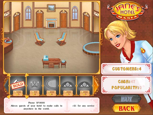 Game screenshot 2 Jane's Hotel Mania