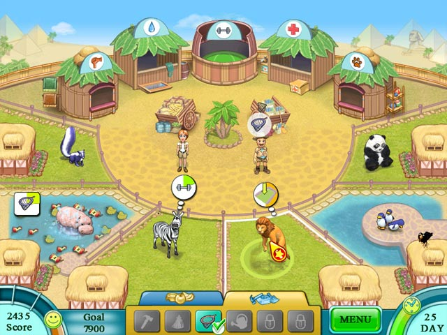 Game screenshot 2 Jane's Zoo