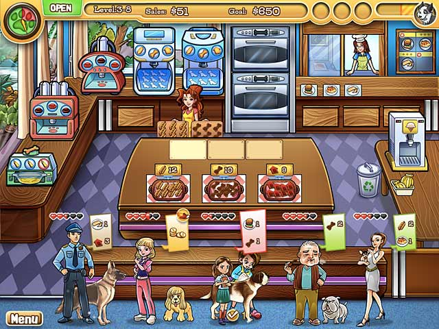 Game screenshot 2 Jessica's BowWow Bistro