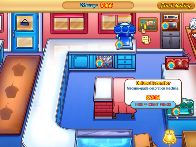 Game screenshot 3 Jessica's Cupcake Cafe