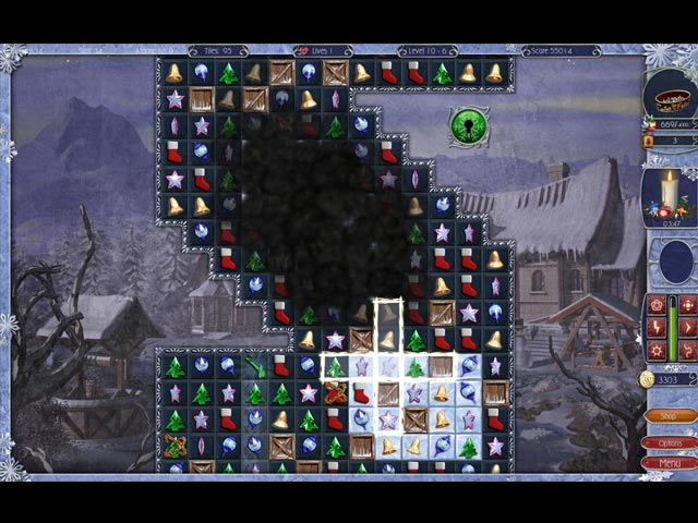 Video for Jewel Match: Snowscapes