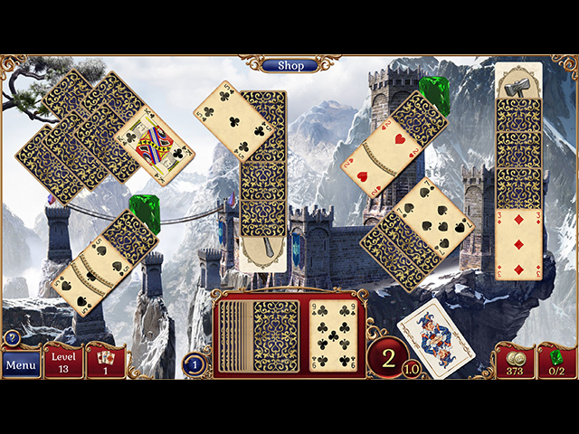 Game screenshot 1 Jewel Match Solitaire 2 Collector's Edition