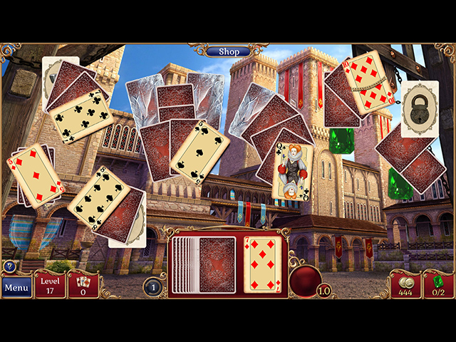 Game screenshot 2 Jewel Match Solitaire 2 Collector's Edition