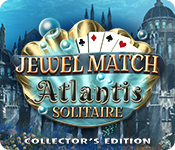 Feature screenshot game Jewel Match Solitaire: Atlantis Collector's Edition