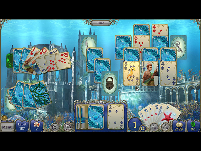 Game screenshot 1 Jewel Match Solitaire Atlantis
