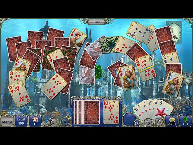 Game screenshot 2 Jewel Match Solitaire Atlantis