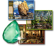 Jewel Quest Mysteries: Curse of the Emerald Tear - Mac
