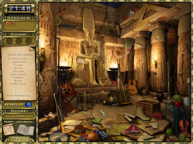 Game screenshot 2 Jewel Quest Mysteries: Curse of the Emerald Tear